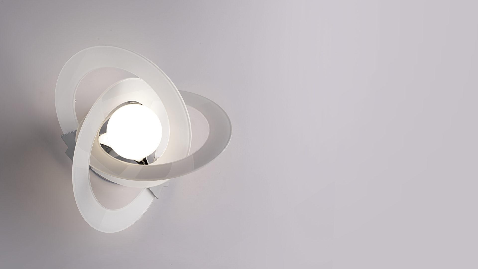 Plafoniere Da Parete Alternative : Orbit lampade da parete cattaneo illuminazione